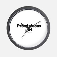 Promiscuous Girl -  Wall Clock