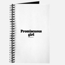 Promiscuous Girl - Journal