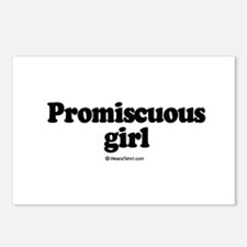 Promiscuous Girl -  Postcards (Package of 8)