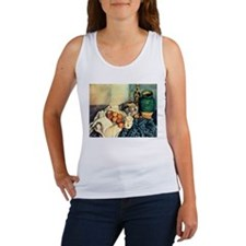 Paul Cezanne Still Life With Apples Women's Tank T