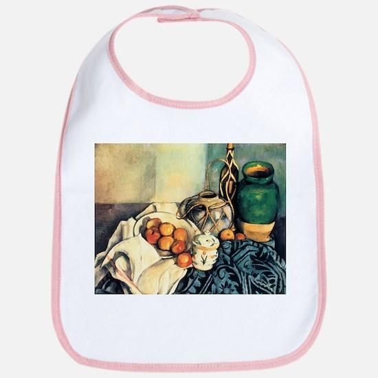 Paul Cezanne Still Life With Apples Bib