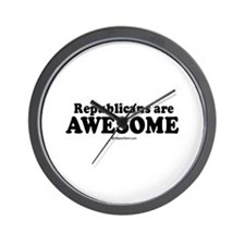 Republicans are awesome -  Wall Clock