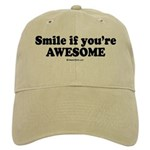 Smile if you're awesome - Cap