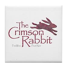 Crimson Rabbit Pinot Noir Tile Coaster