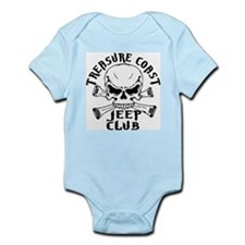 Jeep Club Skulls Infant Bodysuit