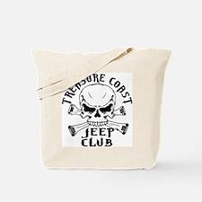 Jeep Club Skulls Tote Bag