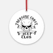 Jeep Club Skulls Ornament (Round)