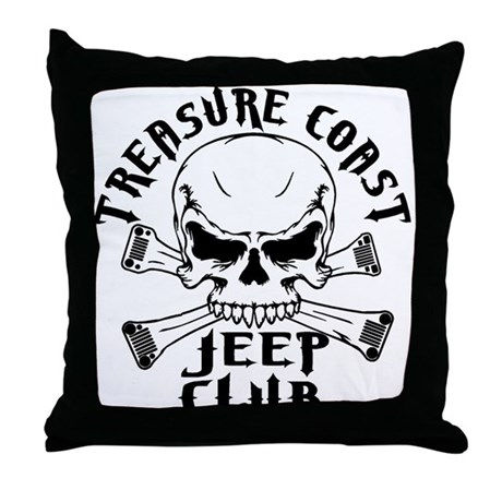 Throw Pillows Kmart : Jeep Club Skulls Throw Pillow by listing-store-50374421