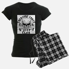 Jeep Club Skulls Pajamas