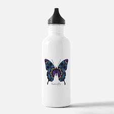 Festival Butterfly Water Bottle