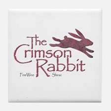 Crimson Rabbit Shiraz Tile Coaster