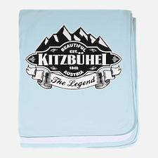 Kitzbühel Mountain Emblem baby blanket