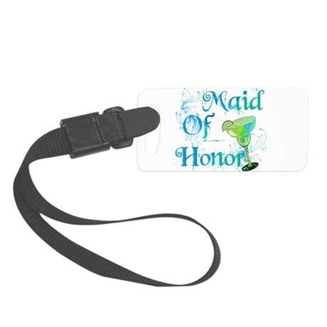 Maid Of Honor.png Small Luggage Tag