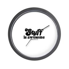 Stuff is awesome -  Wall Clock