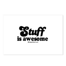 Stuff is awesome -  Postcards (Package of 8)