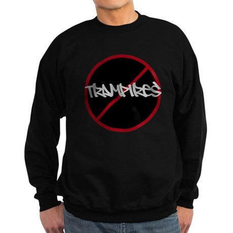 NoTrespassingforTrampires Sweatshirt (dark)
