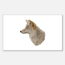 Coyote Profile Decal