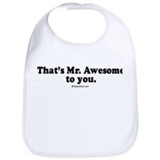 That's Mr. Awesome, to you -  Bib