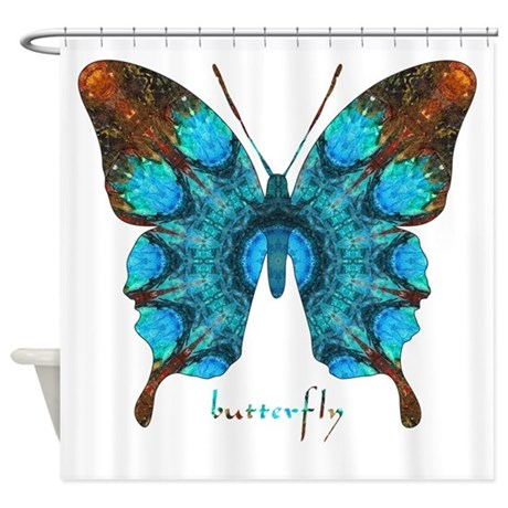 Redemption Butterfly Shower Curtain By Butterflywarehouse