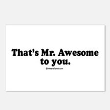 That's Mr. Awesome, to you -  Postcards (Package o