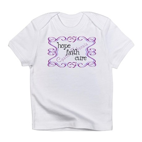 CF Hope Faith Cure Curls Infant T-Shirt