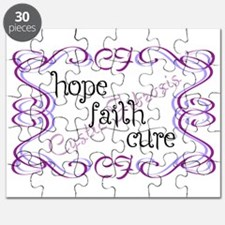 CF Hope Faith Cure Curls Puzzle