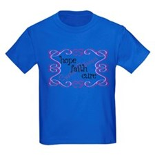 CF Hope Faith Cure Curls T