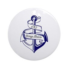 NAVY BRIDE Ornament (Round)