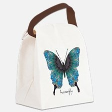 Transformation Butterfly Canvas Lunch Bag