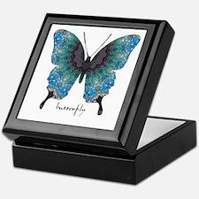 Transformation Butterfly Keepsake Box