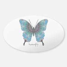 Transformation Butterfly Decal