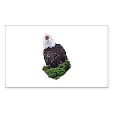 Eagle Screaming Decal