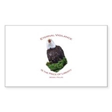 Eternal Vigilance is the Price of Freedom Decal