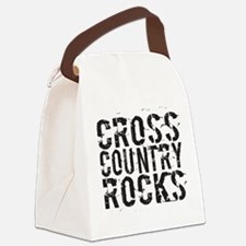 Cross Country Rocks Canvas Lunch Bag