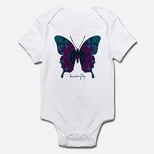 Luminescence Butterfly Infant Bodysuit