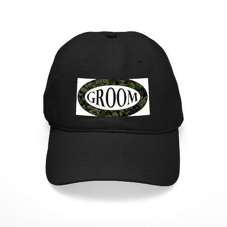 CAMO - GROOM Black Cap