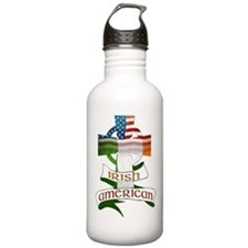 Irish American Celtic Cross Water Bottle