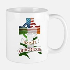 Irish American Celtic Cross Mug