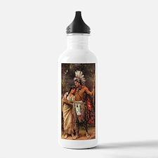 Cute Brave woman Water Bottle