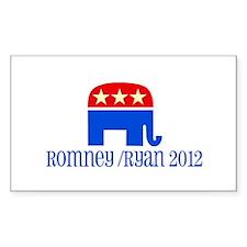 Elephant with Romney/Ryan Decal