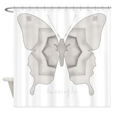 Purity Butterfly Shower Curtain