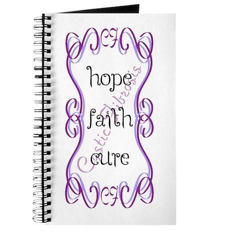 CF Hope Faith Cure Curls Journal