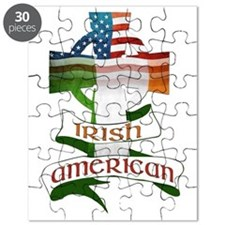 Irish American Celtic Cross Puzzle