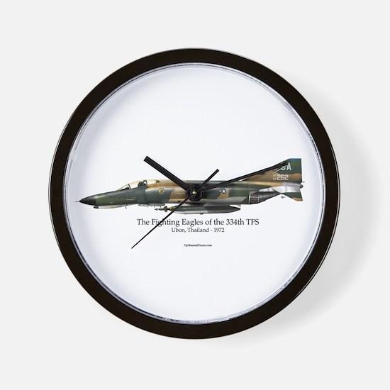 334th TFS Phantom Wall Clock