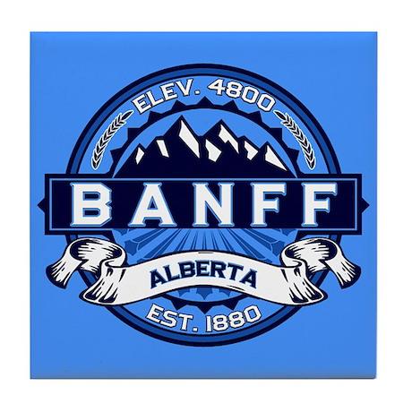 Banff Alberta Tile Coaster