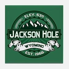 Jackson Hole Forest Tile Coaster