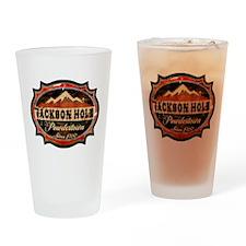 Jackson Hole Drinking Glass