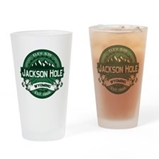 Jackson Hole Forest Drinking Glass