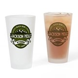 Jackson hole Drinking Glass