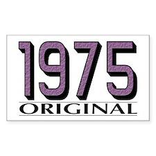 1975 Original Rectangle Decal